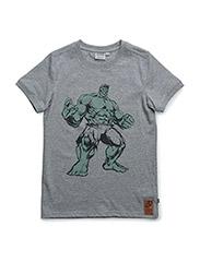 T-Shirt Hulk - MELANGE GREY