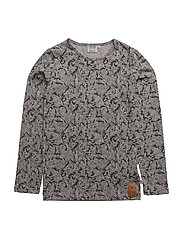 T-Shirt Spiderman AOP - MELANGE GREY