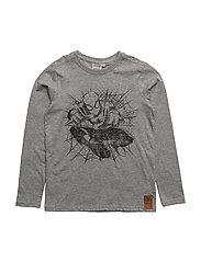 T-Shirt Spiderman - MELANGE GREY