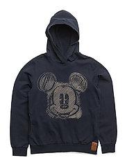 Sweatshirt Mickey Face - NAVY