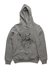 Sweatshirt Spiderman - MELANGE GREY
