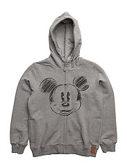 Disney by Wheat - Sweat Cardigan Mickey