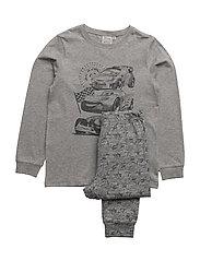 Pyjamas Cars - MELANGE GREY