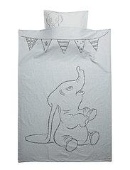 Dumbo Baby Bedlinen - SOFT BLUE