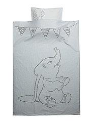 Dumbo Junior Bedlinen - SOFT BLUE