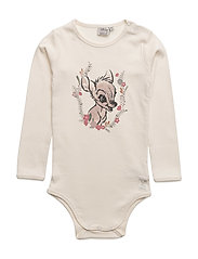 Body Bambi Flowers - IVORY