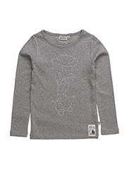 T-Shirt Olaf - MELANGEGREY