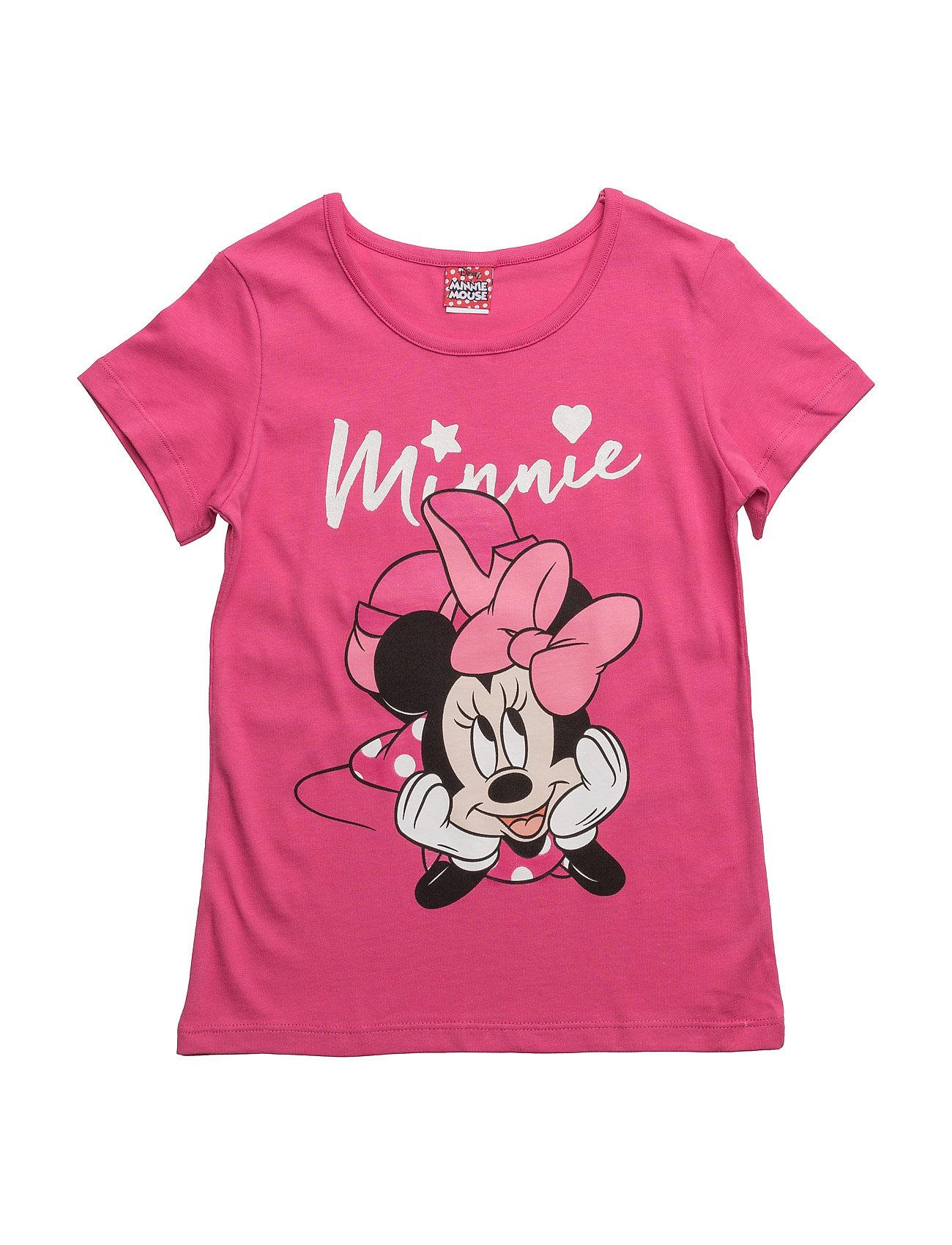 Shirt Disney Kortærmede t-shirts til Børn i Rose