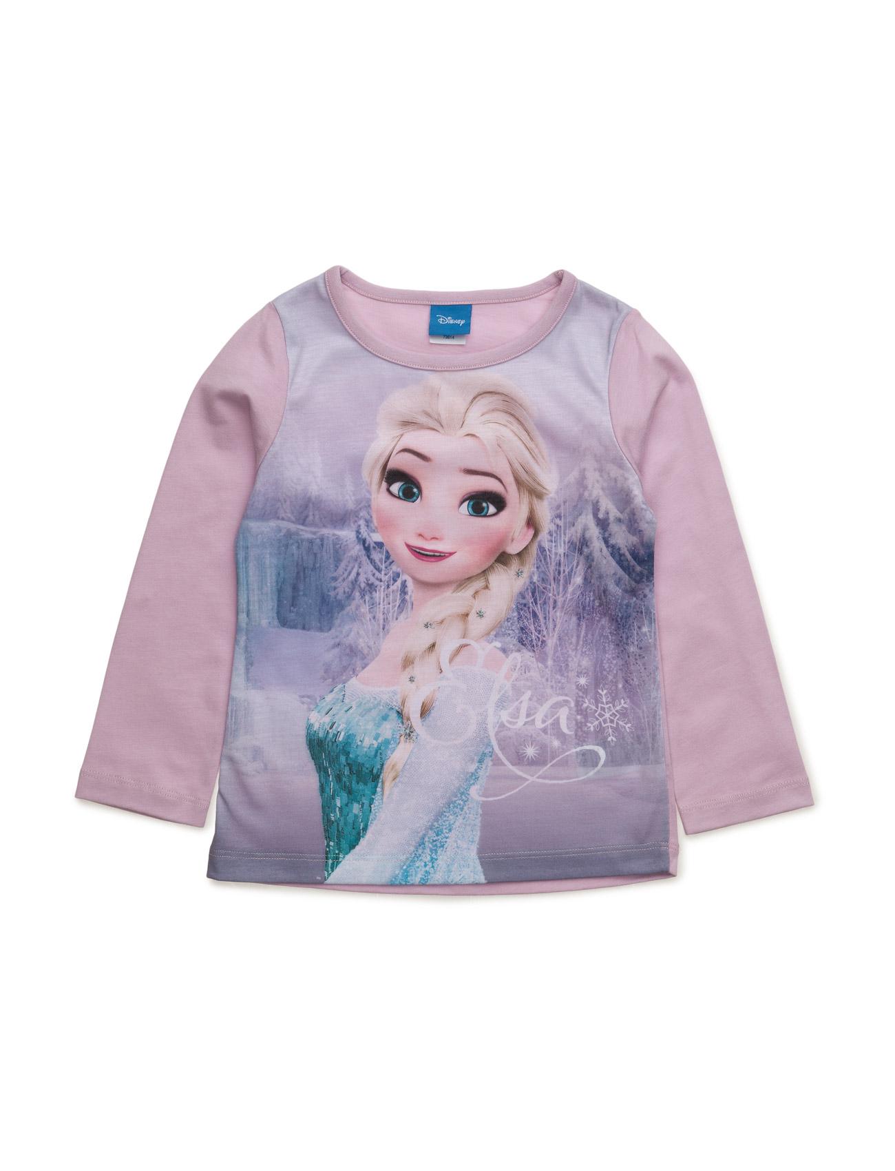 Shirt Disney Langærmede t-shirts til Børn i Lilla