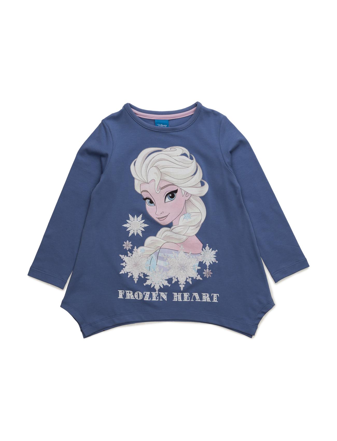 Shirt Disney Langærmede t-shirts til Børn i Light Grey Melange