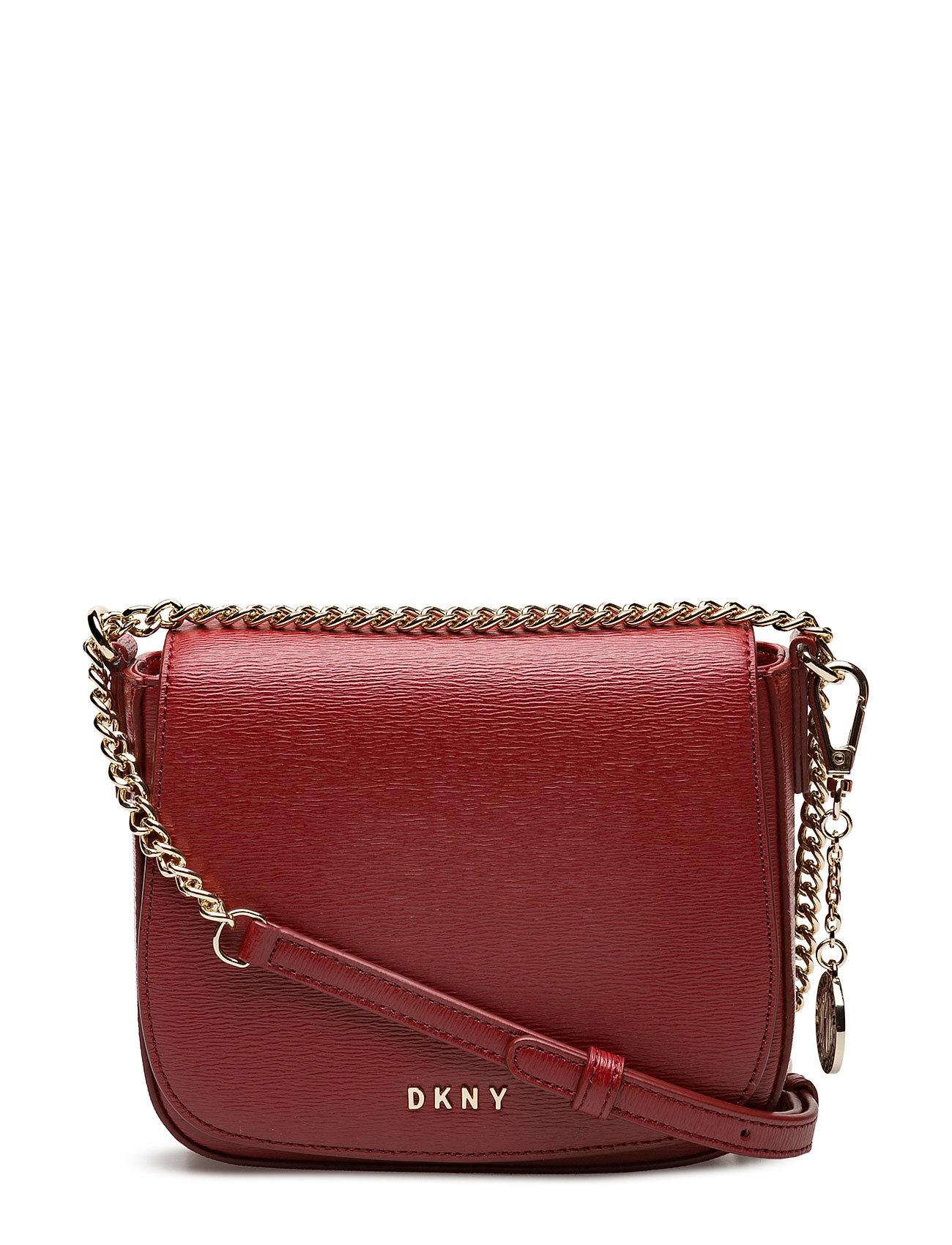 Small Flap Saddle Cr DKNY Bags Skuldertasker til Damer i