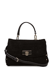 MEDIUM FLAP SHOULDER - BLACK