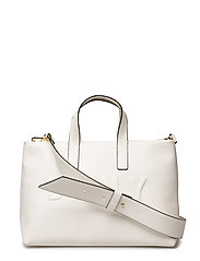 TILLY- SM ZIP TOTE - WHITE
