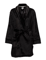 DKNY SIGNATURE ROBE L/S 91,5CM - BLACK