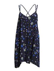 DKNY ROOFTOP GARDENER CHEMISE - NAVY FLORAL