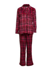 DKNY WINTER'S EVE PJ-SET - CANDY APPLE