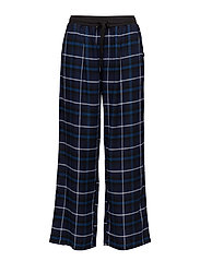 DKNY CHECKED IN PANT - INK