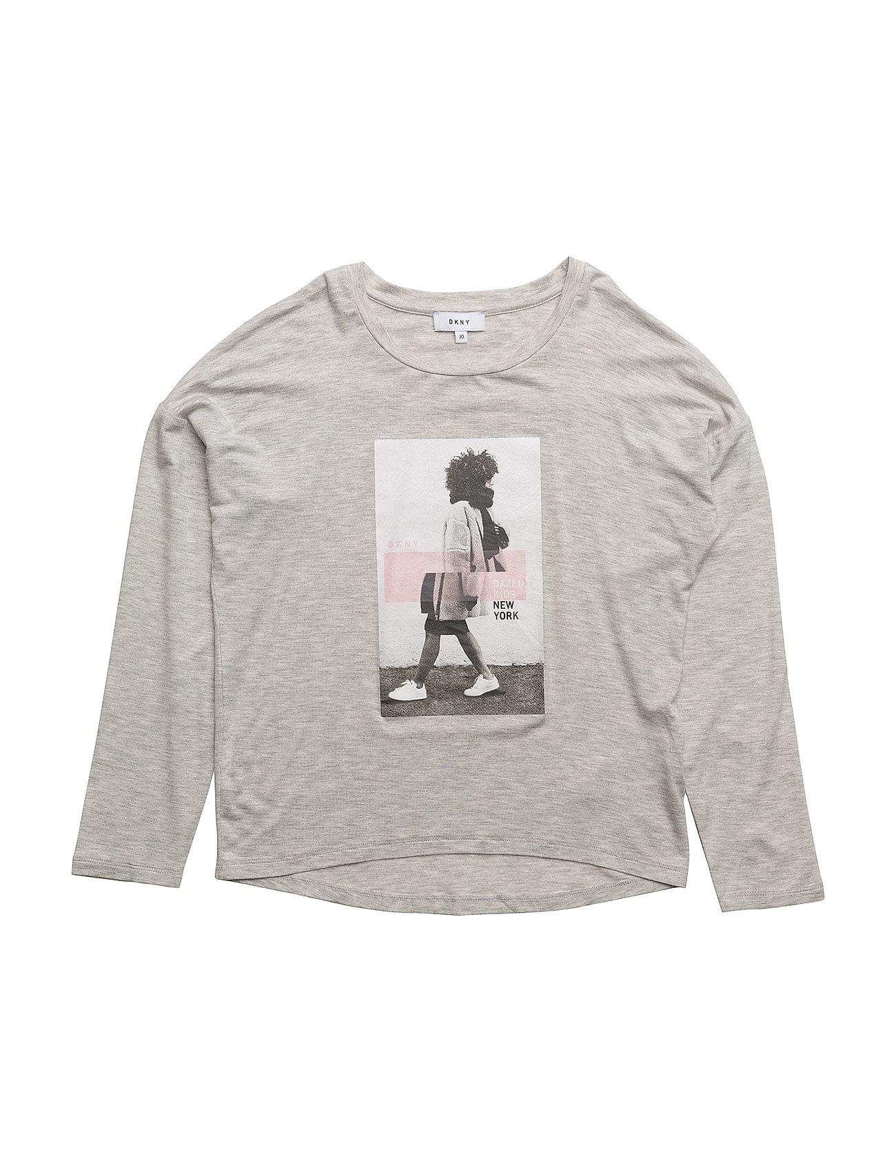 Long Sleeve T-Shirt DKNY kids Langærmede t-shirts til Børn i