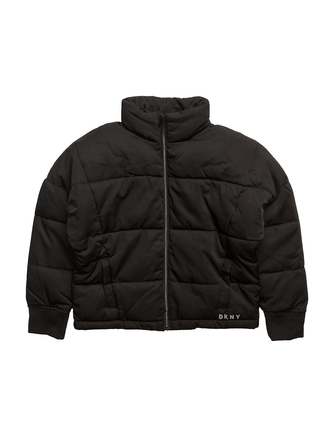 Puffer Jacket DKNY kids Overtøj til Piger i