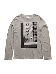 LONG SLEEVE T-SHIRT - GREY MARL