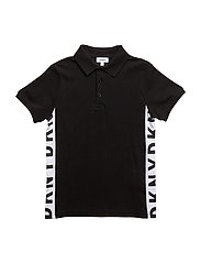 SHORT SLEEVE POLO - BLACK