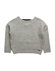 PULLOVER - LIGHT GREY MARL