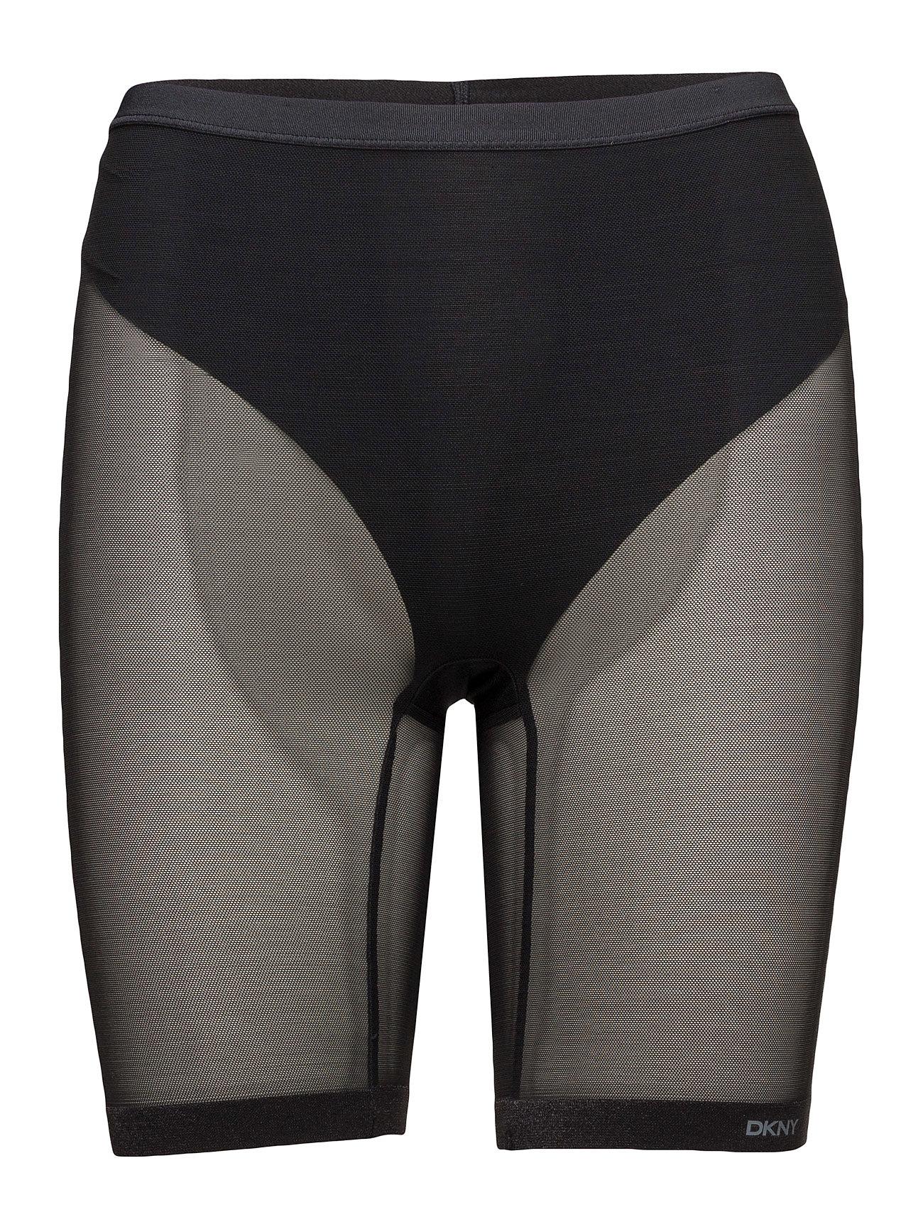 Modern Lights-Mesh Litewe DKNY Shapewear til Damer i Sort