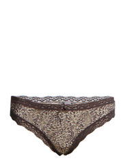 SIGNATURE LACE THONG - 9EO