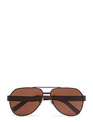 SPORTY INSPIRED - BROWN RUBBER-BROWN