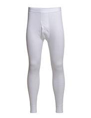 Benklæde m/lang ben og gylp - Hvid