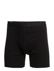 Benklæde m/kort ben og gylp - Black