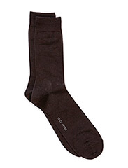 WOOL PLAIN SOCK - Sort
