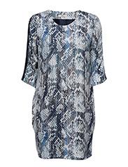 Ranna 2 Dress - MARINA BLUE