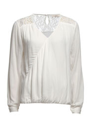 Hillary 1 Blouse - Misty white