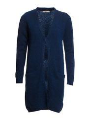 Hafnia 1 Cardigan - Sapphire blue