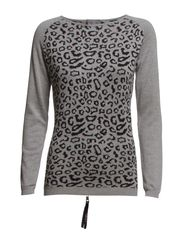 Irina 2 Pullover - Light grey melange