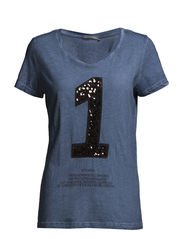 Jasmina 1 T-shirt - Imperial blue