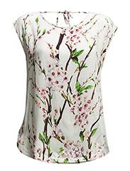 Magnolia 2 Top - Misty white