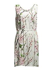 Magnolia 4 Dress - Misty white