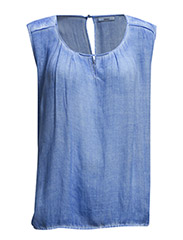 Masala 1 Top - Deepwater blue