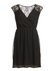 TINDRA DRESS - BLACK
