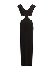 MINDY LONG DRESS - BLACK