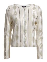 Malin Jacket - Gold Silver White Sequins