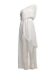 Maya Long Dress - White