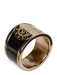 LYNCH RING - SHINY GOLD BLACK