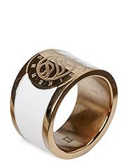 LYNCH RING - SHINY GOLD WHITE