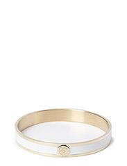 PENN METAL BRACELET - SHINY GOLD WHITE