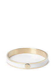 PENN METAL BRACELET - SHINY GOLD WHITE