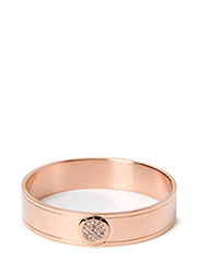 MOUILLE METAL BRACELET - ROSE GOLD CRYSTAL