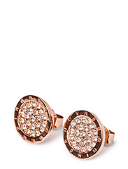 ESTEE EARPOST - ROSE GOLD CRYSTAL